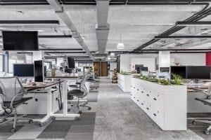 Proyecto de oficinas para King, realizado por Tétris España.