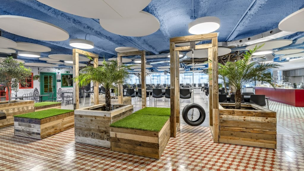 Alfonso de las Peñas Proyecto de oficinas para King, realizado por Tétris España.