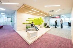 Oficinas de Roche en Madrid, proyecto de 3gOffice