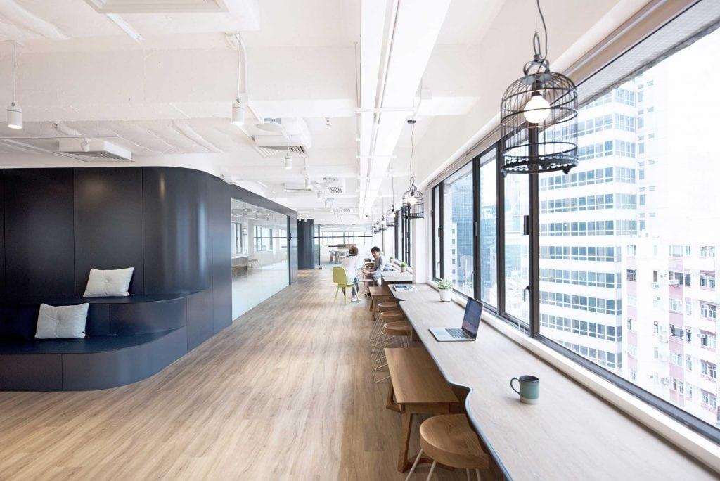 Oficinas de Uber en Hong Kong, proyectadas por el estudio Bean Buro.