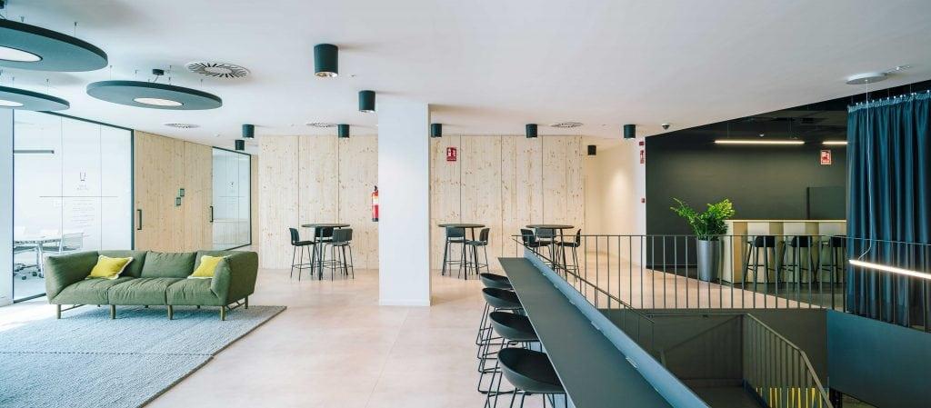 Javier Martinez. Oficinas de la compañía Pernod Ricard en Madrid, obra de CBRE.