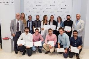 Coincidiendo con el acto oficial de presentación, se llevó a cabo la entrega de premios a los ganadores de la edición número 11 de Cosentino Design Challenge