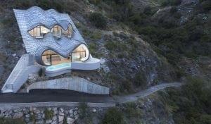 La casa del acantilado es uno de los cortos sobre arquitectura que se proyecta en este festival.