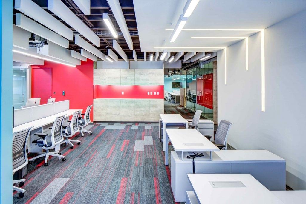 Este proyecto de oficinas fue realizado para la agencia de BTL Gideas.