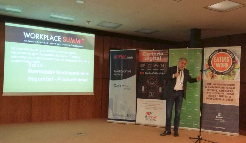 Workplace summit IFMA Barcelona 2017