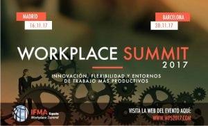 Workp`lace summit IFMA Barcelona 2017