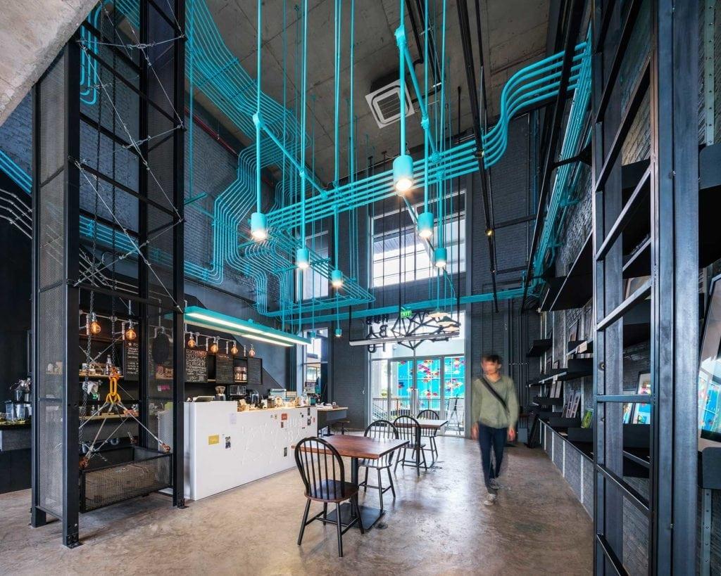 supermachine studio hubbato oficinas Coworking Hubbato-To Bangkok de Supermachine Studio