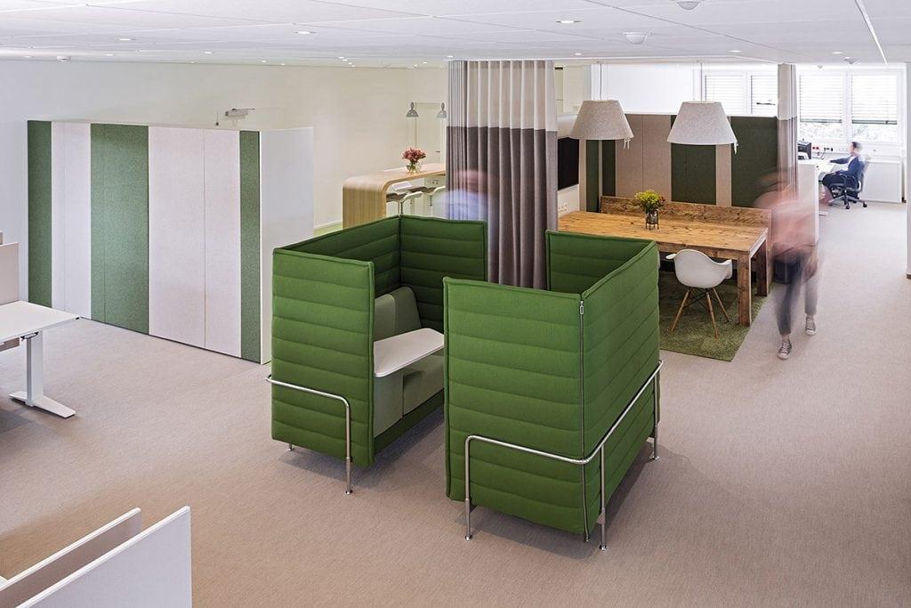entornos efectivos de oficinas y trabajo