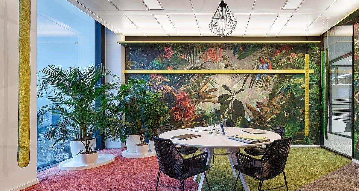 Ippolito Fleitz Group crea un espacio de sofisticado individualismo en Frankfurt