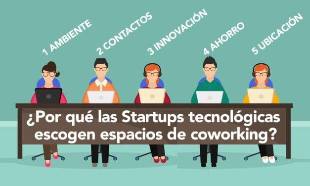 ¿Por qué las Startups tecnológicas escogen espacios de coworking?