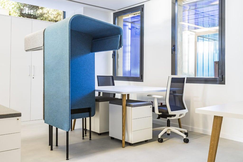 El Espacio Familias del Hospital San Juan de Dios de Barcelona diseñado por Ovicuo Design
