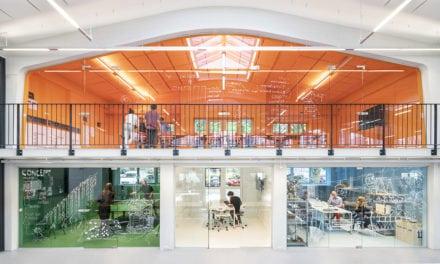 Casa de muñecas. Nuevas oficinas del estudio MVRDV en Róterdam