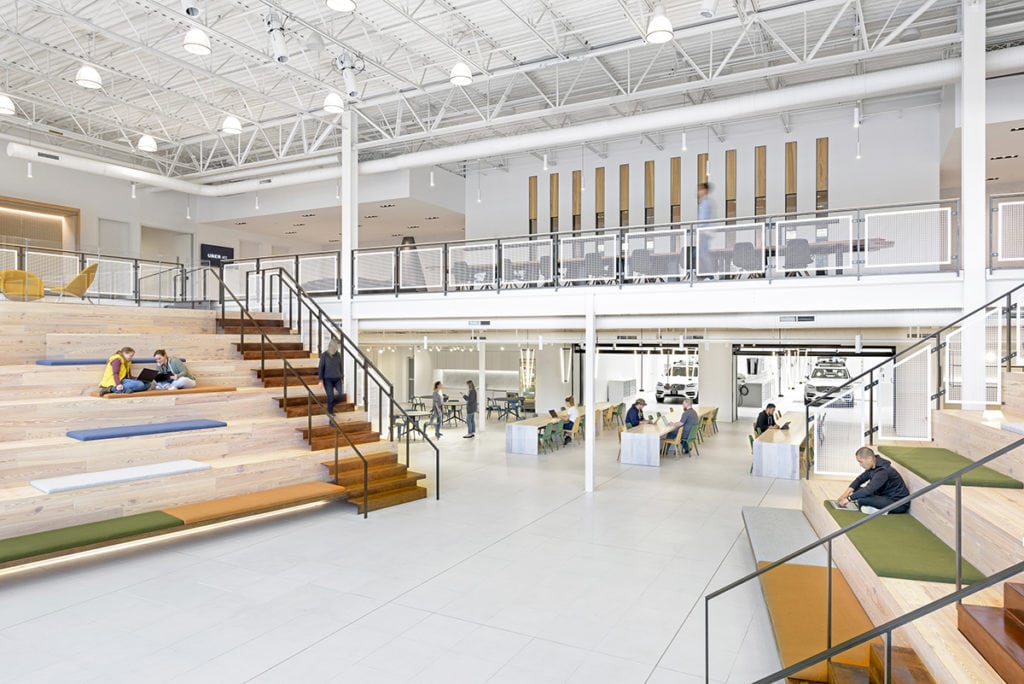 Uber Pittsburgh, Assembly Design