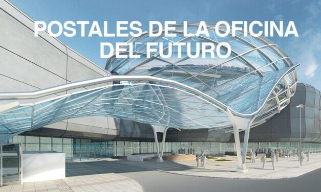 Postales de la oficina del futuro