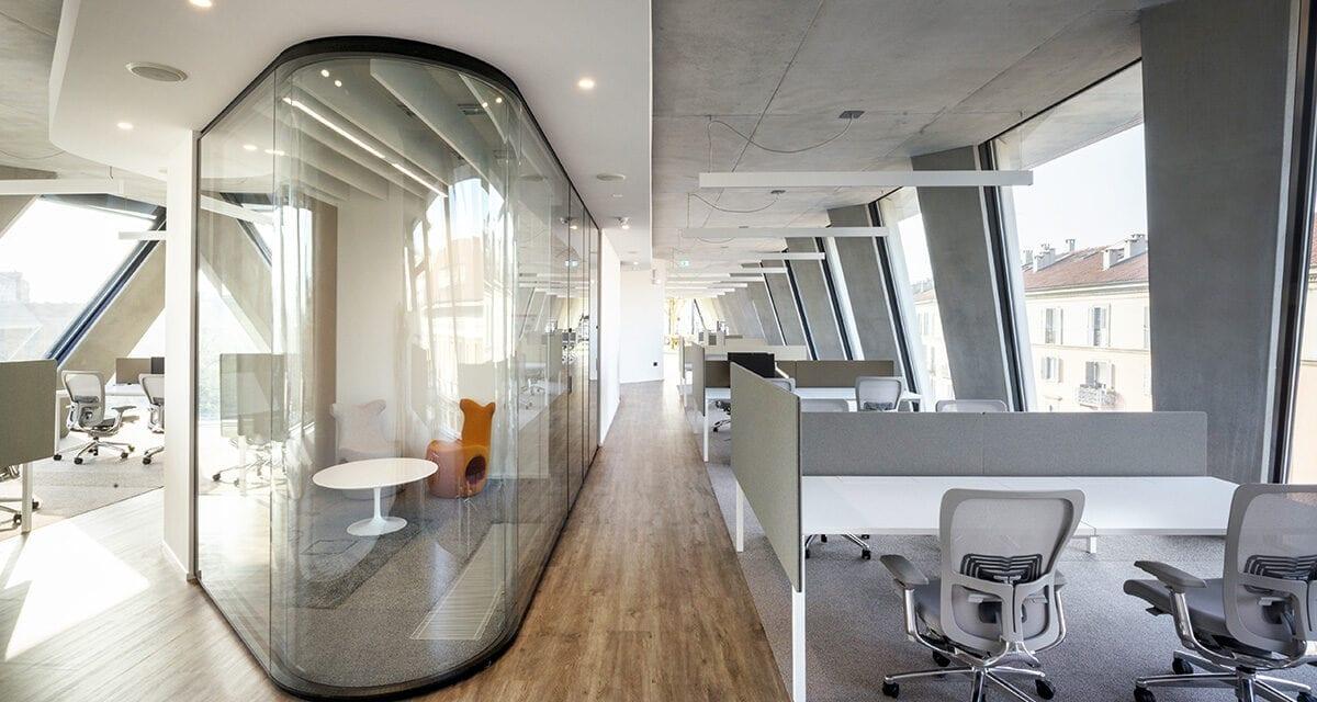 Microsoft House Milán, proyecto interior de DEGW
