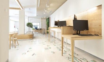 Oficina de Triodos Bank en Málaga, proyecto de sAtt