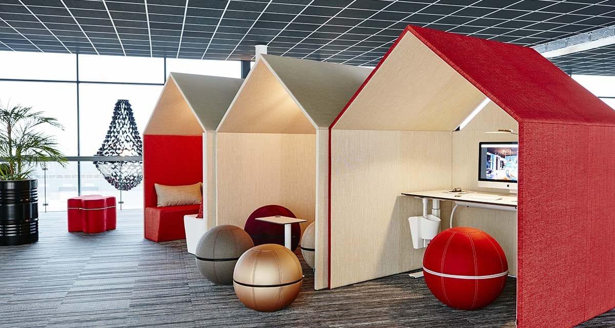 Espacios de trabajo The Hut de Götessons