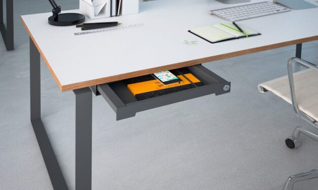 Sistema inteligente de bandejas portamaterial de Hettich, Smartray