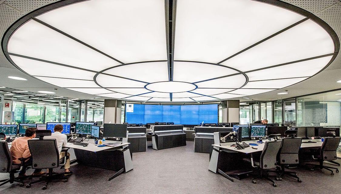 Centro de Control de Enagás, remodelado por Requena y Plaza