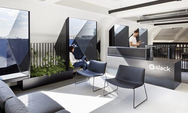 Oficinas Slack London, de Odos Architects