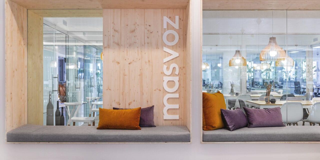 Oficinas Masvoz Barcelona de Josep Cano