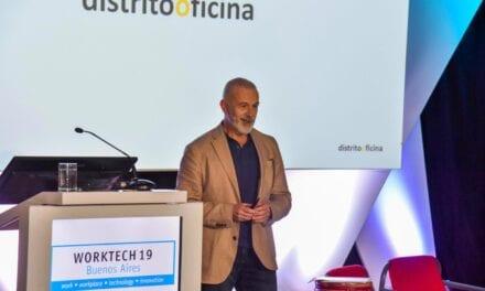 Distrito Oficina participa con una ponencia sobre creatividad en Worktech Buenos Aires