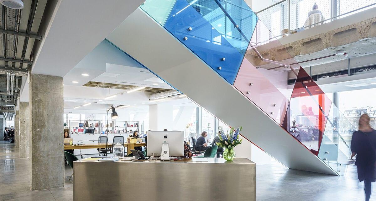 Ogilvy Group Londres de BDG Architecture & Design