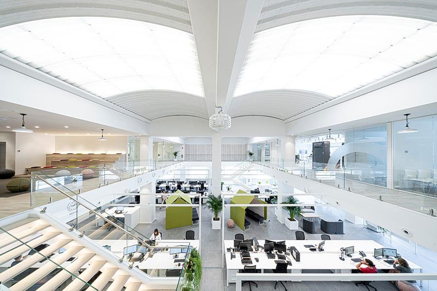 Sandra Soler proyecta la nueva sede de JCM Technologies en Vic