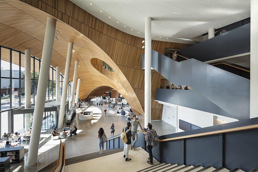 Snøhetta diseña la Charles Library Temple University en Philadelphia