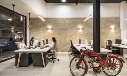 Ampliación del estudio de arquitectura Destudio en Valencia