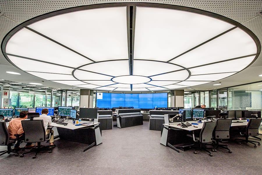 Requena y Plaza desarrolla el proyecto de renovación del Centro Principal de Control de Enagás