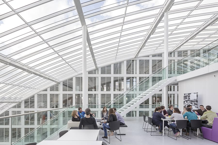 Agencia de Medio Ambiente de Bruselas, proyecto de Architectenbureau Cepezed