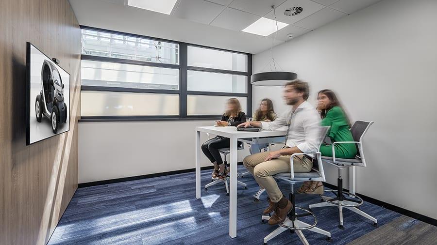 Nuevas oficinas de GRUPO Renault en Madrid