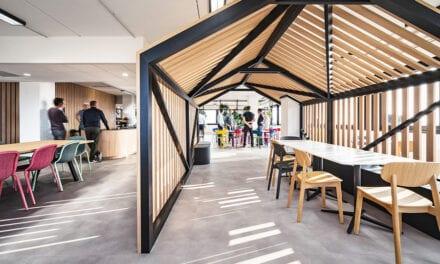 Espacio de innovación The Beacon en Amberes, de CaptiF
