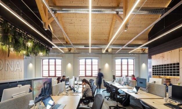 Oficinas Cisco 22@ Barcelona de CBRE y The Natural Projects