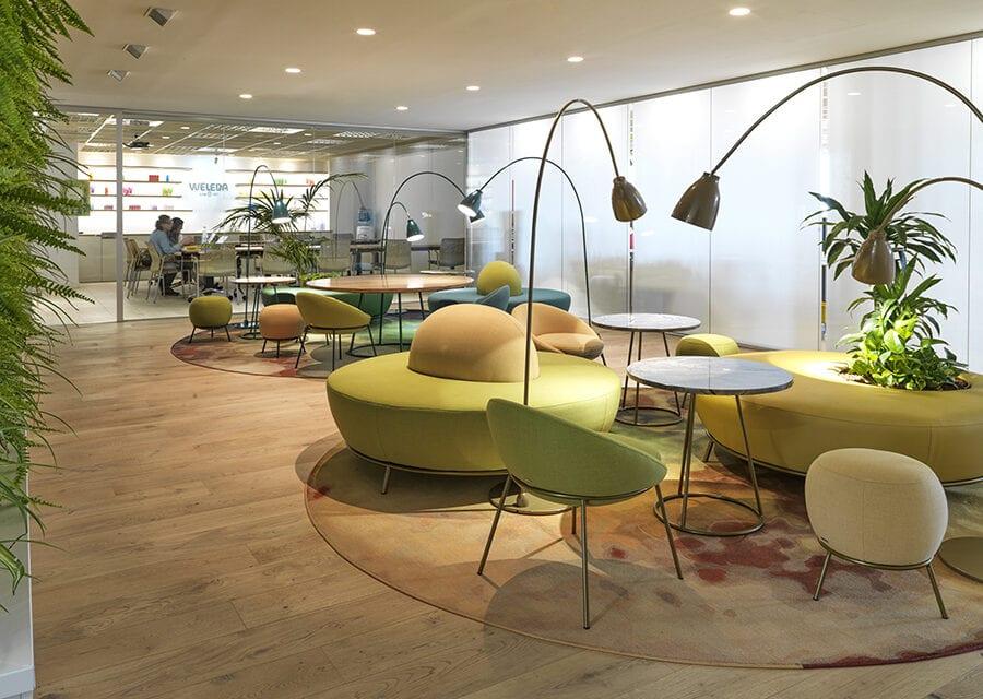 Oficinas Weleda Madrid, diseñadas por More&co
