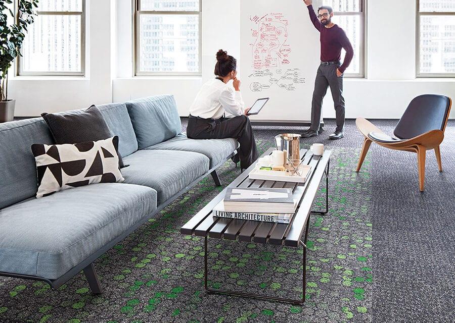 Ny+Lon Streets, pavimentos de Interface inspirados en paisajes urbanos