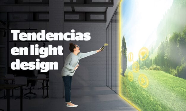 Tendencias en light design: un geranio para iluminar el escritorio