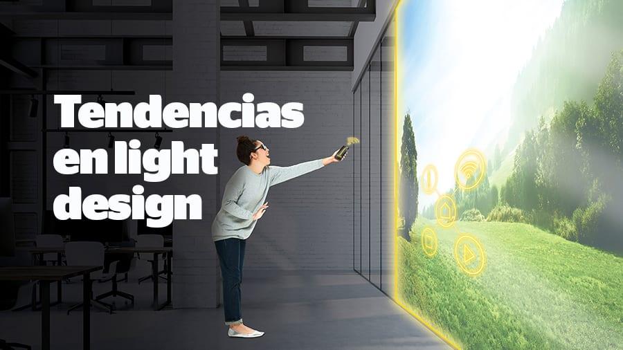 Tendencias en light design: un geranio para iluminar el escritorio
