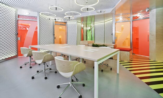 The Underground Den, espacio coworking en Madrid, de Clavel Arquitectos