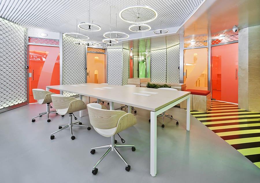 The Underground Den, espacio coworking en Madrid, de Clavel Arquitectos