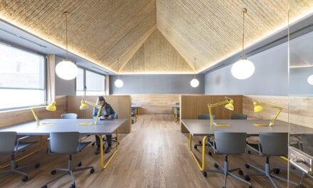 Impact Hub Piamonte, coworking proyectado por CH+QS Arquitectos