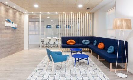 Oficinas Lactiber en León, proyecto de Andrea Muñoz