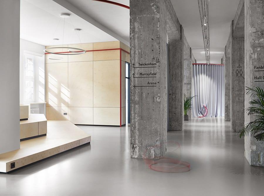 LXSY Architekten Spielfeld