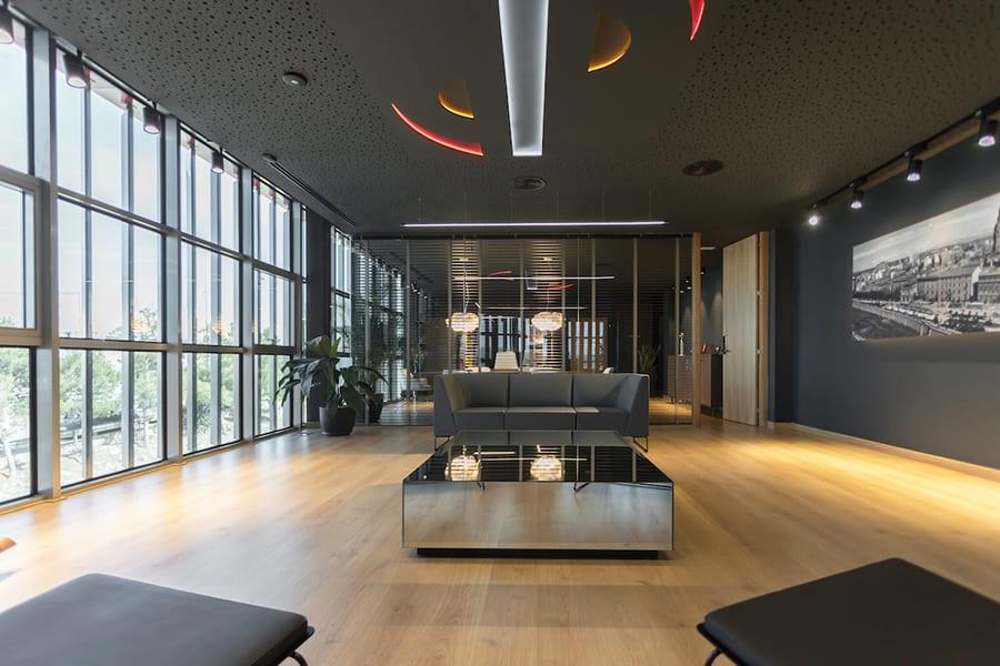 Oficinas Grupo Sureste, Murcia, Gabriel Bautista, Antro Design