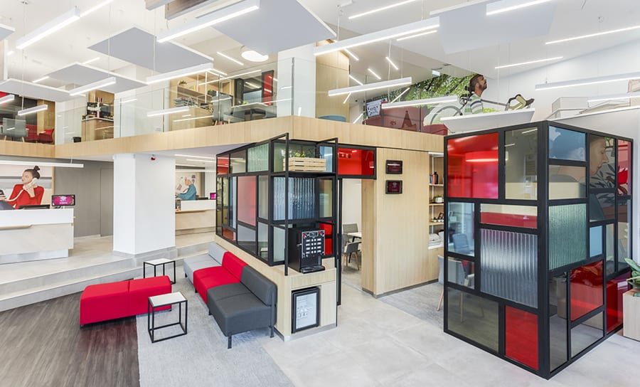 El estudio serbio ArcoSite proyectas las oficinas de Société Générale en Belgrado