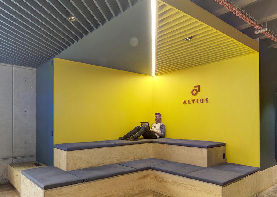Sede de Altius, Ciudad de México, proyecto de Rima Arquitectura