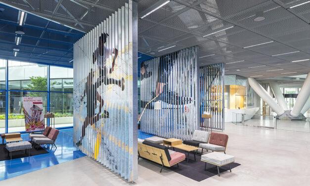 Adidas Arena Herzogenaurach, de Behnisch Architekten
