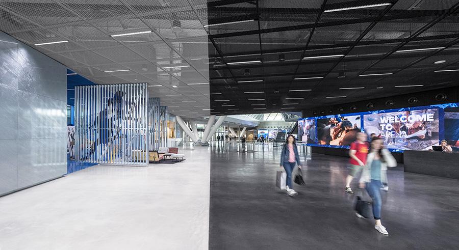 Adidas Behnisch Architekten