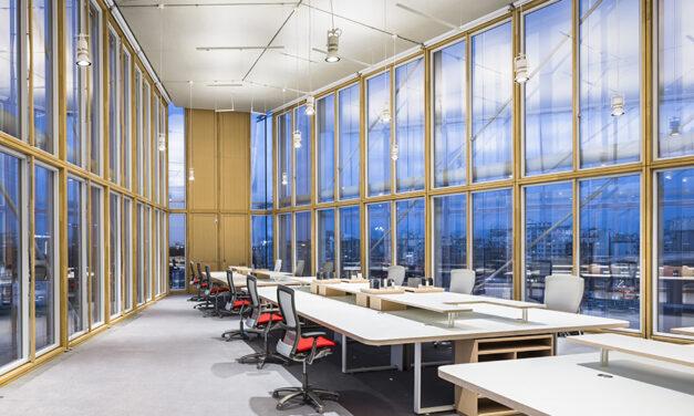 Maison de l'Ordre des Avocats, edificio proyectado por Renzo Piano